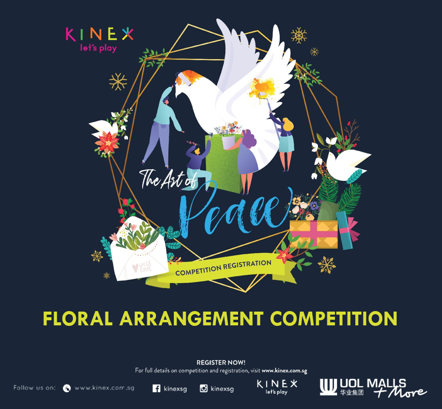 The Art of Peace at KINEX - Floral Arrangement Competition (Registration Closed)