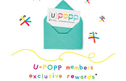 U-POPP MEMBERS EXCLUSIVE REWARDS